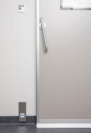 KONE hermetic doors are applicable for the demanding hygienic and air permeability areas.